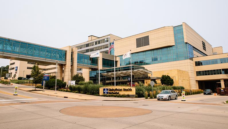 Multi-story medical building in Peoria, Illinois