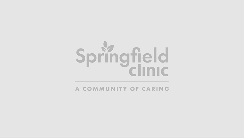 Light grey temporary background with Springfield Clinic logo