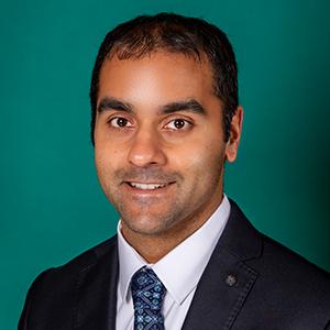 Male ophthalmology doctor headshot