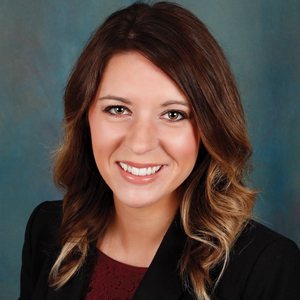 Female family medicine physician assistant headshot.