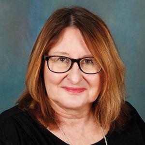 Female endocrinology specialist headshot