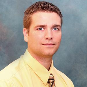 Male gastroenterology physician assistant headshot