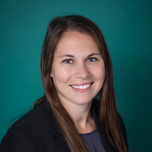 Female general surgery physician assistant headshot.