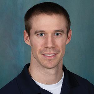 Male rehabilitation services occupational therapist headshot