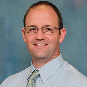 Male family medicine doctor headshot