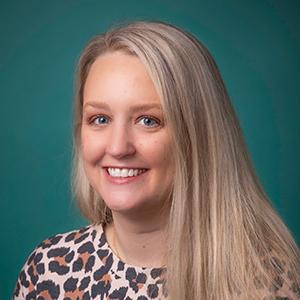 Female pediatrics physician assistant headshot