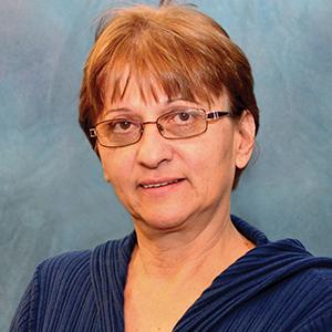 Female family medicine doctor headshot