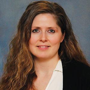 Female family medicine nurse practitioner headshot