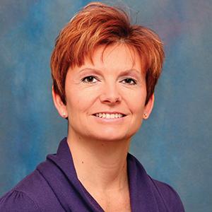 Female center for women's health doctor headshot