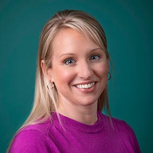 Female pediatrics nurse practitioner headshot