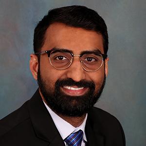 Male critical care medicine doctor headshot