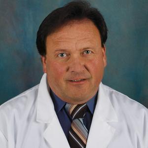 Male center for women's health doctor headshot