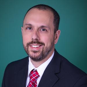 Male optometrist professional headshot
