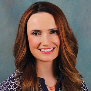 Female dermatology doctor headshot