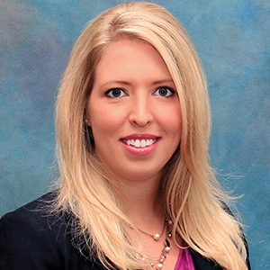 Female urgent care physician assistant headshot
