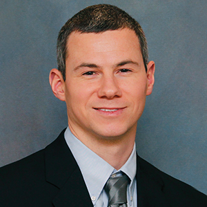 Male anesthesiologist headshot