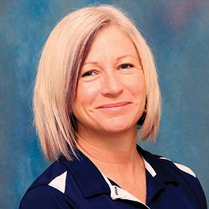 Female rehabilitation services physical therapist headshot